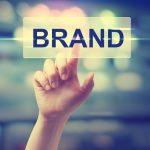 touching brand graphic